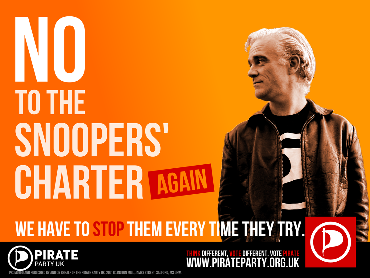In case there was any doubt. #SnoopersCharter http://t.co/C7siIaVE4o