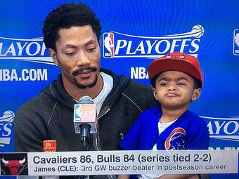 Did not kno DRose was a ventriloquist.  RESPECT. http://t.co/SSZTm1w74x
