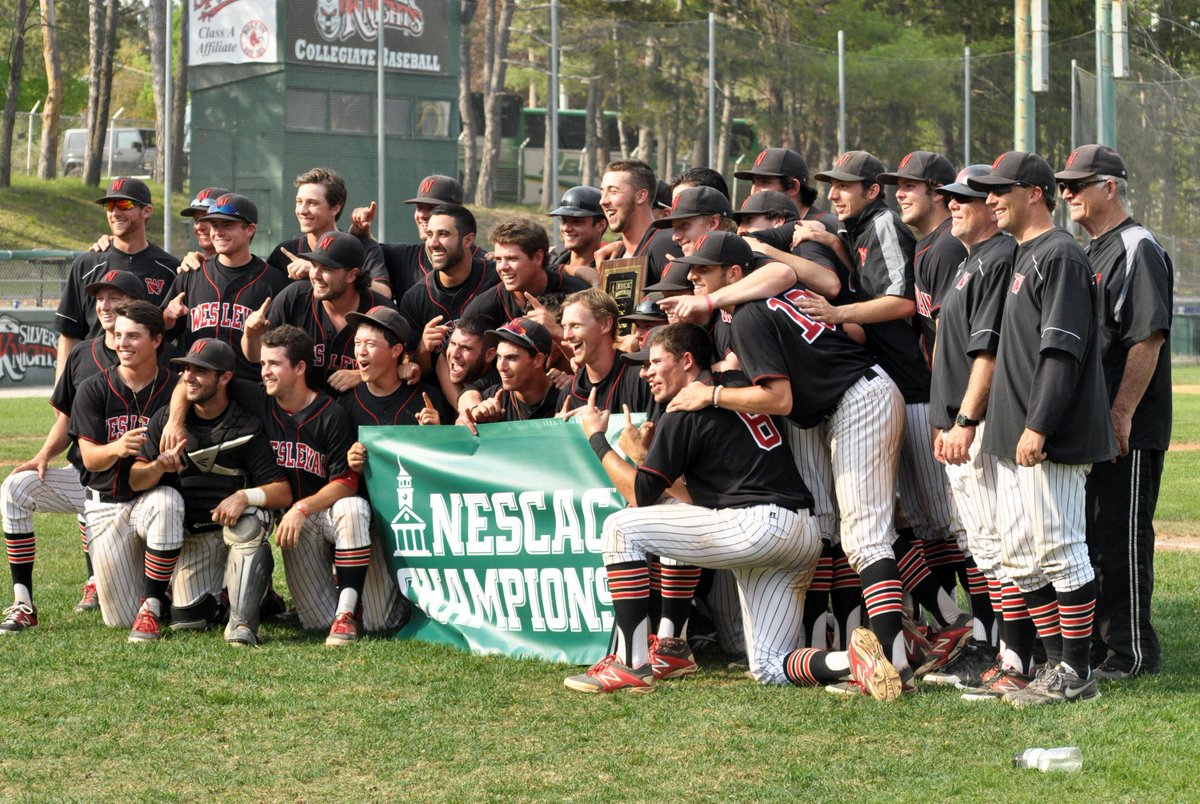Congratulations to the 2015 NESCAC Baseball Champion - Wesleyan http://t.co/rHSqONZNlY