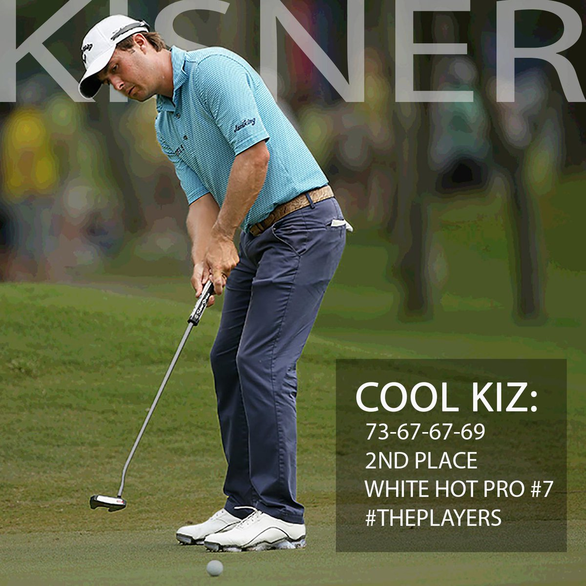 Retweet this if you were entertained by @K_Kisner this afternoon/evening.  #ThePlayers http://t.co/mavENGsRLN