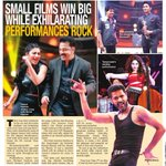 RT @vethika8FC: Small films win big while exhilarating performances rock @shrutihaasan @vijaytelevision --> http://t.co/yb1UaS3Age