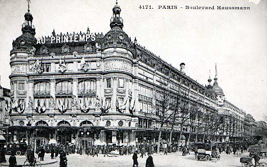 11 mai 1865 cr ation du magasin printemps aujourd 39 hui l 39 ph m ride d 39 archim de - Magasin le printemps paris ...