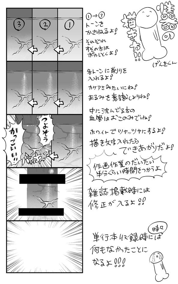 唐突に、性器の描き方【仕上げ篇】 http://t.co/SjC6H5fDB3