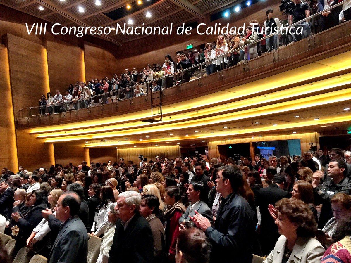 Inauguración oficial de VIII Congreso Nacional de Calidad Turística #calidadturisticaAR http://t.co/9smbHLGtLS