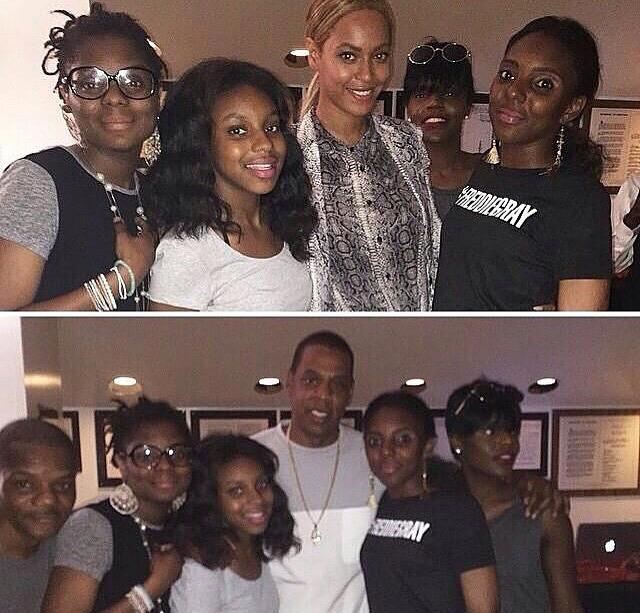 Beyoncé & Jayz met with #FreddieGray family in Baltimore http://t.co/cTBEUa6fBJ