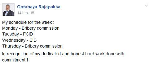Former Defense Secretary's schedule for this week. #lka #100my3days http://t.co/NILvVjAzvB