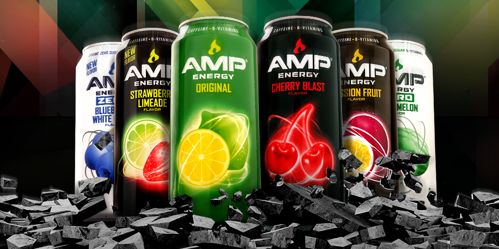 Next week, AMP Energy is launching four BRAND NEW electrifying flavors to shock your tastebuds. What's your flavor? http://t.co/lPTW2aMXZB