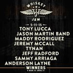 RT @TheWhiskeyJam: TONIGHT (updated with @luccadoes!!) http://t.co/zi96USBRrk