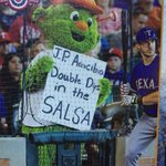 Thank you @biggles14 for my favorite card of my career! @OrbitAstros is a liar!