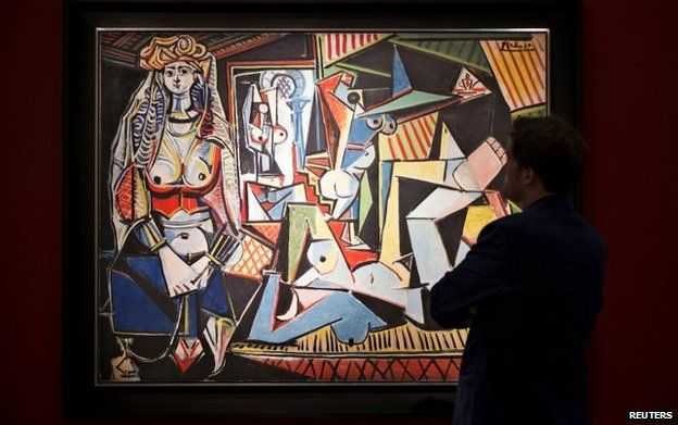 Picasso's Women of Algiers went for $179m today at Christies.. http://t.co/AtUBUAUMmn
