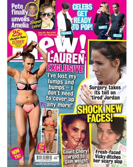 It's mag day! @LaurenGoodger shows off her new bikini body PLUS: