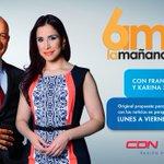 En el aire @6AMLaManana con @FRANKLINAGUERR1 y @KariSanchezC... http://t.co/asFm9PLGgf