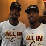 JR Smith & Iman Shumpert of the @cavs, headed to the 2015 #NBAFinals! http://t.co/WGlEjgjxSK
