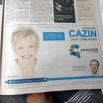 Oui, la caquiste Jocelyne Cazin connait les priorités pour les citoyens de #Chauveau. #polqc #PLQ Team @Vero_Tremblay http://t.co/rupRyfeAcO