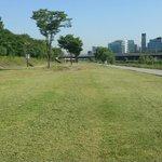 인간과 자연이 어우러지는 아름다운 탄천 #성남시 #탄천 풀깍기 2015.5.26~5.31일까지 시행 합니다. 공사중 불편한 점 많은 이해 있으시기 바랍니다. http://t.co/WixumJ70B7