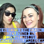 @lucylooksout & I are hitting the beach stay tuned in 30mins on #Periscope http://t.co/a0ntVJQz7K