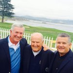 """Fun seeing HOF LaVell Edwards & ASU coach Todd Graham @ the """"Coaches Classic."""" Todd really has the Sun Devils going! http://t.co/Fv5IB7vPch"""