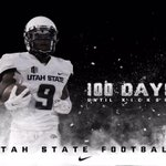 Only 100 days until kickoff! #AggieNation are you ready? #UtahStateFootball http://t.co/IpPoRTQEDC