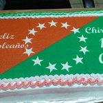 Pastel de cumpleańos por los 166 aniversario de Creación de Chiriquí. Tolé, martes 26 de mayo. http://t.co/TwQRenSZ7Q