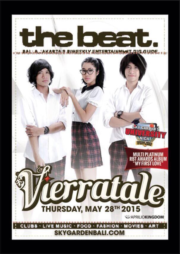 Tomorrow @Vierratale live perform at @skygardenbali ! Don't miss it guys :) http://t.co/EmOXk4pKRv