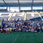Had a great turnout for tonights fundraiser clinic @SportingPark. Thanks @SportingKC_SCN for coaching. http://t.co/jQYgOuT9yg