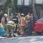 [miseàjour] @SPVM recherche voiture foncée,  conducteur ~60 ans, cheveux mi-longs frisés. Fillette va survivre #rcmtl http://t.co/J9jWFbx6or