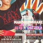 👯🎲💃🏼 #MakeSumShake 👯🎲💃🏼          ‼️This Thursday‼️      ➡️150 Pine St. Ne Atlanta ⬅️             🇺🇸Cool America 🇺🇸 http://t.co/o7l2tQ9FYm 3
