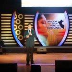 Pr @edwardheidinger con el mensaje en el programa Plegaria por un país con esperanza #ADELANTE #PeruSaludable http://t.co/pqRHKuFj9k
