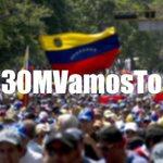 """""""@Elperrogocho: #30MVamosTodos  SIN CAPUCHAS! CON LA FRENTE EN ALTO, Y CON LA BANDERA DE #VENEZUELA EN MANO! http://t.co/0L7DHJnA1j"""""""