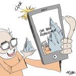 Selfie... #India #PM #ModiOneYear #Achievement #Selfie http://t.co/g1JEaYfwpJ