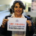 Plenário debatendo agora financiamento empresarial: empresa não vota!. #nãoapecdacorrupção #reformapolítica http://t.co/OW43hNm1lu