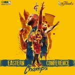 """@NBA: The @cavs are 2015 Eastern Conference Champs and advance to the NBA Finals! http://t.co/m1ujcvwJGN"" TAGAL NG GSW 😭 HAHAHA"