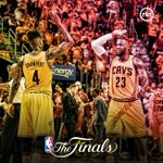 Sweep complete- the @Cavs are heading to the Finals! http://t.co/BiMo3dNcSz