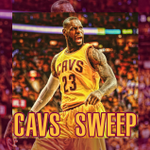 The @cavs complete the sweep with an 118-88 win over the Hawks. http://t.co/OmXBxxl81z
