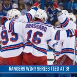 GAME 7 IS NECESSARY! Its win AND go home for #NYR tonight as the Rangers win 7-3!! http://t.co/hSFFLtKGqi