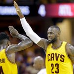 FOUR WINS FROM A TITLE. #Cavs clobber the #Hawks 118-88 to clinch the sweep. Time to get weird, Cleveland. http://t.co/KMGbu6iqOq