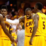 Cavs are 1st team to sweep No.1 seed in playoffs since Nets swept Pistons in 2003. http://t.co/S1vHto4awJ