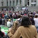 Affordable Housing Now message resonated at #donthave1million rally at #Vancouver Art Gallery #vanpoli #cdnpoli http://t.co/kNrjT0GMvj
