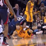 VIDEO: Al Horford ejected for Flagrant 2 for delivering this elbow to Matthew Dellavedova http://t.co/ba2rerJK94 http://t.co/8w43oDa5pI