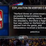 .@NBA explanation for Al Horfords ejection http://t.co/GB4A1sb2vJ