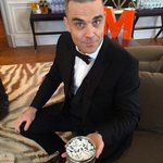"""""""Wanna get fresh with me?"""" Sure do @robbiewilliams! Tickets on sale now #Perth! @ChuggEnt http://t.co/W2SfGgibmV"""