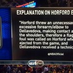The NBA Official explanation of the Al Horford ejection: http://t.co/btMBrwSf11