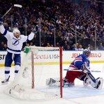 Steven Stamkos nets his 7th goal of playoffs as Lightning shut out Rangers, 2-0. Tampa Bay takes 3-2 series lead. http://t.co/mqTF9gDCoE