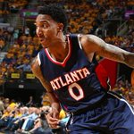Jeff Teague misses three-pointer at the buzzer. @ATLHawks, @cavs go to OT tied at 104: http://t.co/XXWPzLakYa http://t.co/c6iDEk0snt