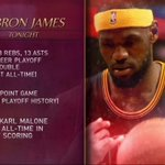 WHAT A NIGHT for @KingJames! http://t.co/GaU5f9g0Wb