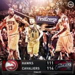 WHAT A GAME at The Q! @cavs pull out the Game 3 victory in OT! #NBAPlayoffs http://t.co/zQ0hjvBO4u