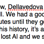 Kent Bazemore on the Horford/Dellavedova incident: http://t.co/YkuwGKicD4