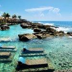 """#SolYPlaya Aléjate del bullicio y relájate en Mahahual, definido como el """"corazón de la Costa Maya"""". #QuintanaRoo http://t.co/37K7Ud1tdJ"""