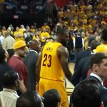 Theres nothing like being able to #witness #greatness. Cavs fans are very fortunate. @KingJames is on another level http://t.co/9UUgoVdoJC