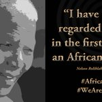 """""""I have always regarded myself, in the first place, as an African patriot"""" #NelsonMandela #WeAreAfrica #AfricaDay http://t.co/GRIlbAnMJG"""